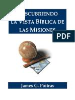 Descubriendo La Vista Biblica de Las Misiones
