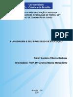 A Linguagem e Seu Processo de Evolução - TCC Luciano Ribeiro Barbosa_final