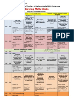 vctm fall conf day at a glance - pdf