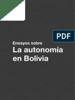 Ensayos sobre la Autonomia en Bolivia