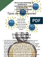 Coloides,Disoluciones,Emulsiones,Geles