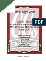 CC's Coffee House Case Analysis