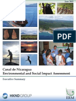 RESUMEN DEL ESTUDIO DE IMACTO AMBIENTAL Y SOCIAL DEL CANAL
