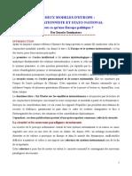 Les modèles d'Europe _ Intégrationniste et stato-national_0.pdf
