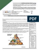 Recomendaciones Dietéticas Para Pacientes Con Diabetes