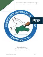 Copia de Tarea 1.0 Introducción a La Historia Social Dominicana