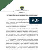 Nota Publica Do CNE - Identidade de Genero 9-2015