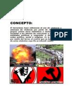 EL TERRORISMO EN EL PERÙ Y SU RELACION CON EL NARCOTRAFICO