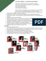 CARACTERÍSTICAS DE OBRAS   DE FEDOR DOSTOIEVSKI.docx