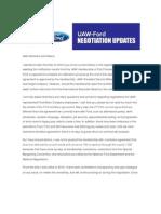 UAW-Ford negotiation updates
