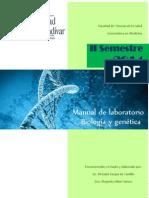 Manual de Laboratorio Biologia y Genética II Semestre 201 4