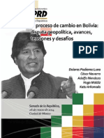 Cambio en Bolivia