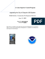 Upgrading the City of Cloquet's GIS System (306-star11-08)
