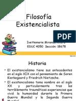 Imr- Filosofia Existencialista Educ 4050