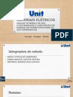 APRESENTAÇÃO MATERIAIS ELÉTRICOS