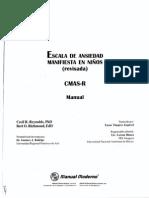 Test CMAS R