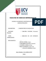 Informe Análisis de Estados Financieros