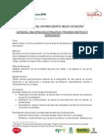 Estructura de Informe Escrito