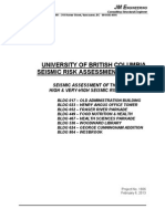 UBC Seismic Risk Assessment_Eight Buildings Final Report_Feb 7-2013