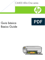 Manual HP C4480 Impresora