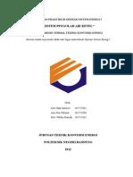 Laporan Praktikum Operasi Sistem Energi i