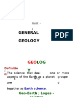 (301669132) 1 Unit-I Scope of Geology in Engineering (1)