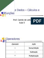 6 - Banco de Dados – Cálculos e funções.pdf
