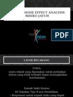 FMEA pasien jatuh  Jatuh