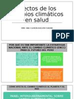 Efectos de Los Cambios Climáticos en Salud