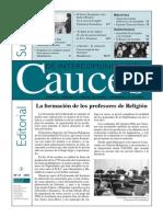 Cauces La Formacion de Profesores de Religion