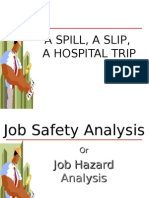 Job Safety Analisys Hend