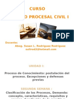 la demanda . proceso civil