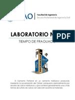 Lab02 - Tiempo de Fraguado (UPAO) - TECNOCO