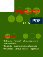 Prevention of Cruelty to Animal