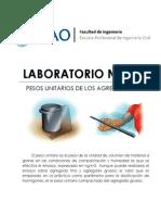 Lab04 - Peso Unitario de Los Agregados (UPAO) - TECNOCO