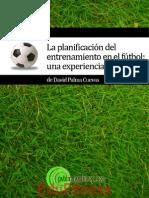 La Planificacion Del Entrenamiento en El Futbol Una Experiencia Persona - EduFitnessl
