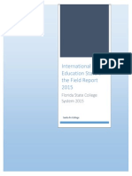 Internationalization in Florida College System State of the Field Report 2015