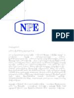 Article NPE
