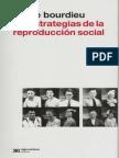 Las Estrategias de La Reproduccion Social Pierre Bourdieu