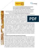 La innovación didáctica en el currículo potencialmente aplicado para las áreas de Matemáticas, Bioquímica, Cultura Financiera, Comunicación y Física
