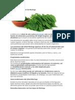 La Nutrición Del Árbol de Moringa