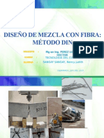 Diseño de Mezcla Con Fibra