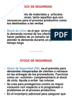 8.2 a Stock de Seguridad