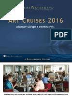 Art Cruises 2016