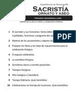 ARQUIDIÓCESIS de BARRANQUILLA - Sacristía, Ornato y Aseo - Taller Para Sacristanes