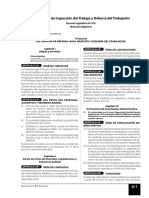 Ley General de Inspeccion Del Trabajo y Defensa Del Trabajador - Ley 27444