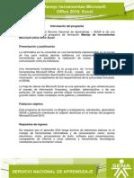 Informacion Programa Excel