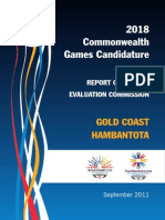 2018 CGF Evaluation Commission Report