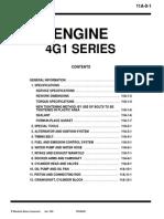 Engine 4g1 Series