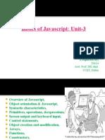 unit3-Basics of JavaScript ppt